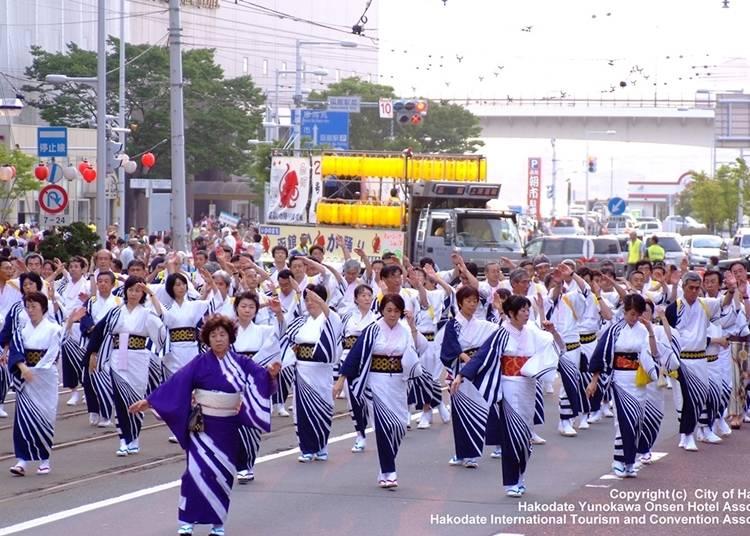 15. Hakodate Port Festival (Early August)