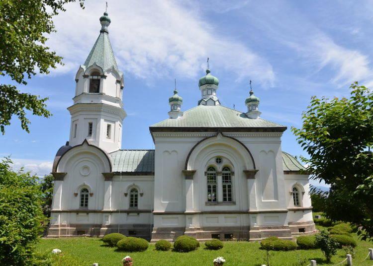 厳かな空気が流れる「函館ハリストス正教会」を見学