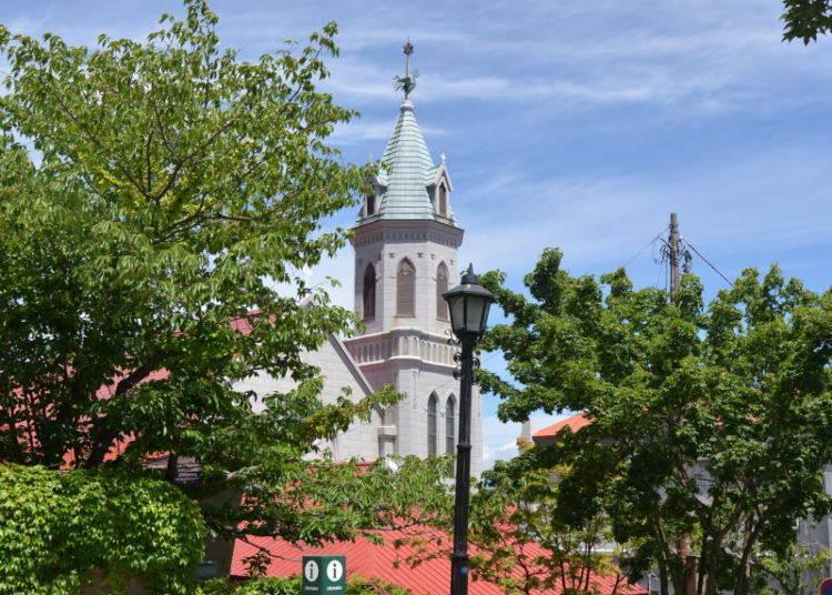 일본에서 가장 오래된 역사를 자랑하는 [카톨릭 모토마치 교회]