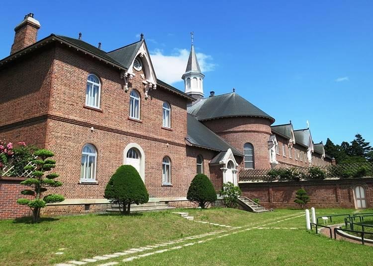 展现西洋建筑美学~特拉皮斯汀女子修道院