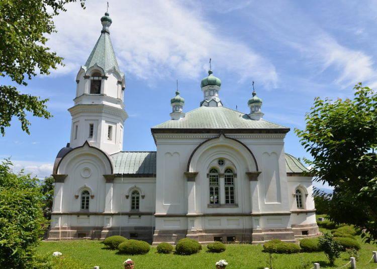飄盪著莊嚴氣氛的「函館哈利斯特斯東正教堂」