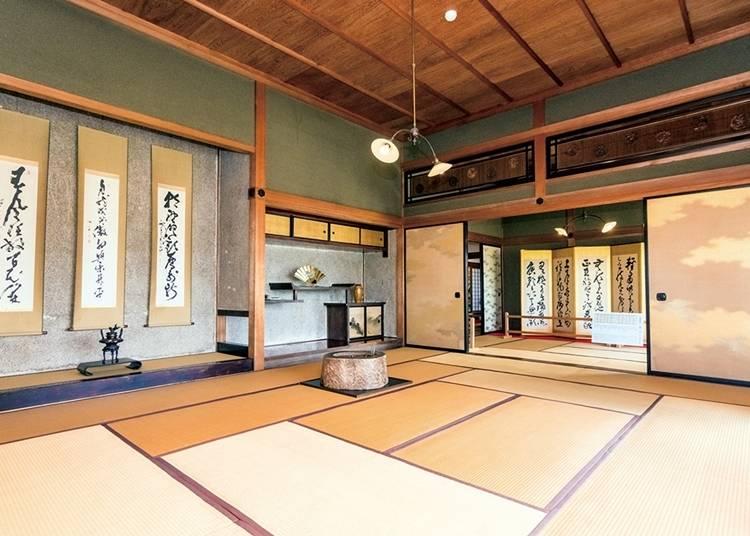 函館代表建築風格~舊相馬邸
