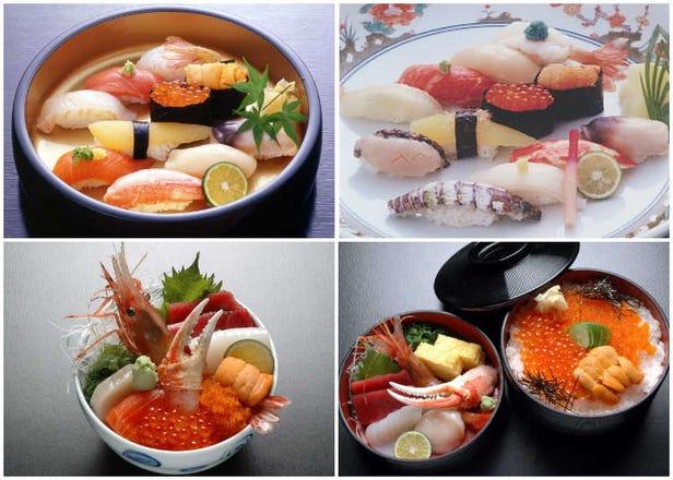 北海道小樽運河旁6間美味壽司店必吃推薦!