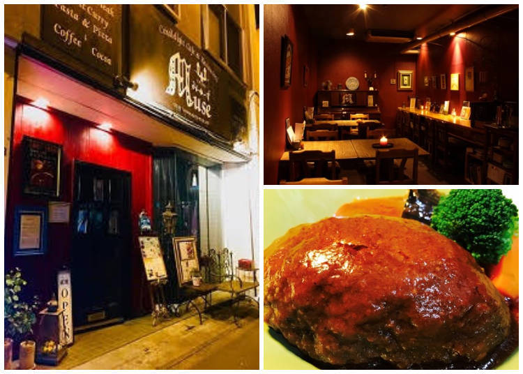 Experience Dining and Music in a Candlelit Store, Otaru Muse