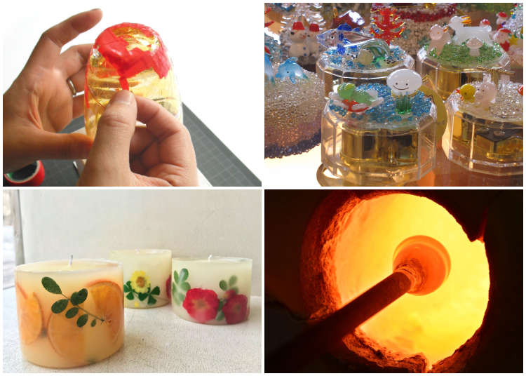 From Glass Blowing to Candle Making! 6 things to do when you come to Otaru
