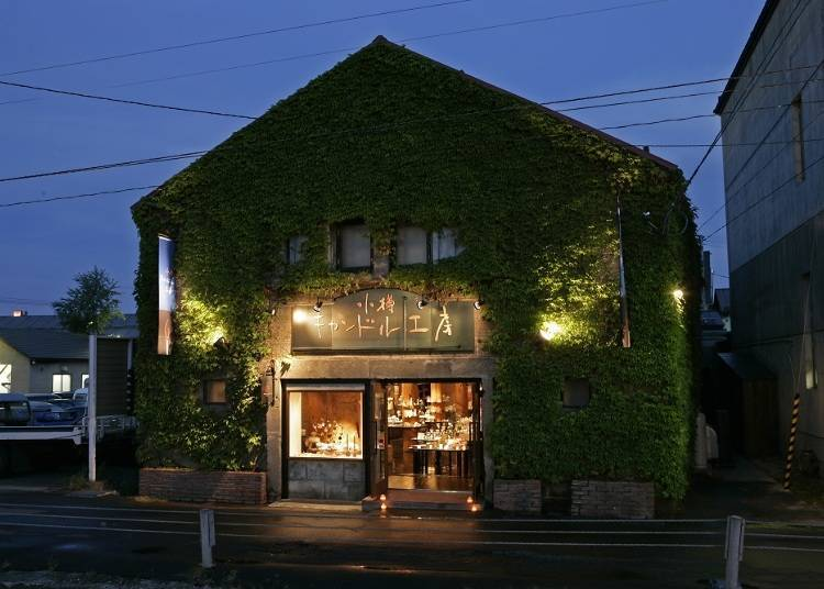 6.The soothing flicker of candle light Otaru Candle Studio