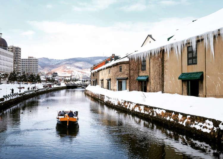 日帰りで巡れる「小樽運河」周辺のおすすめ観光スポット12選