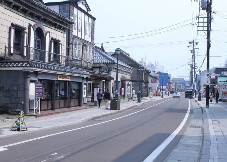 5) 오타루 관광에서 빼놓을 수 없는 메인 거리 [사카이마치 도오리]