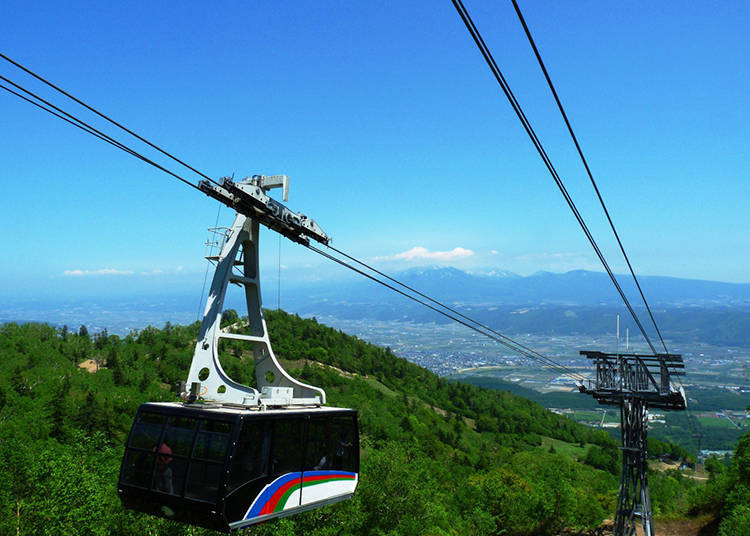 5. Enjoy the ropeway and view of the garden - Gentle breezes will refresh as you try your hand at golf!