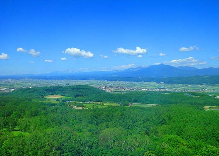 魅力1. 夏季挑十勝岳側,冬季挑北的嶺側!享受從房間眺望出去的無敵景色