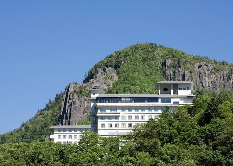 層雲峽溫泉飯店推薦①享受優美壯觀的大自然景致「層雲峽 朝陽亭」