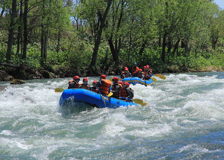 Recommend NAC Activity #1: Rafting