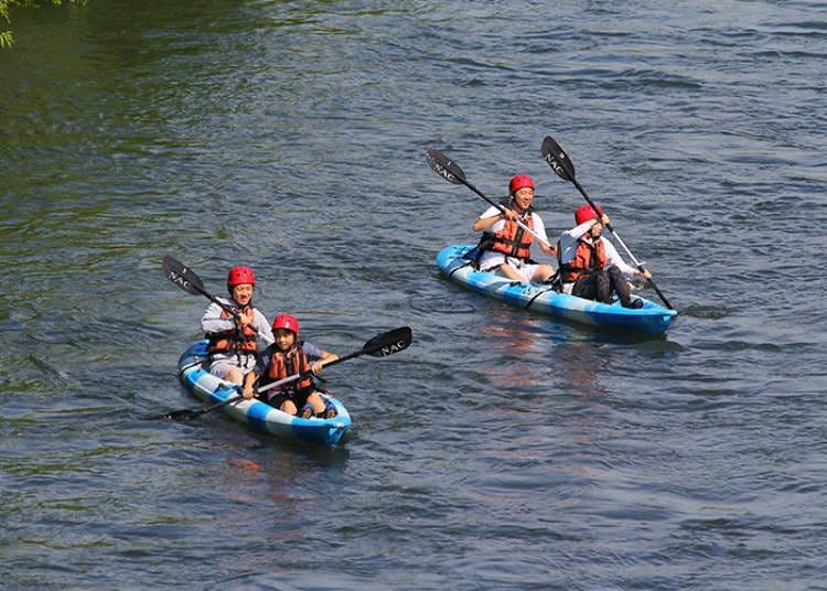 Recommend NAC Activity #2: River Kayak & Niseko River SUP