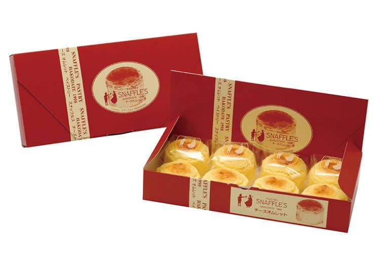 【推薦店家&商品4】函館洋菓子SNAFFLE'S 新千歲機場店