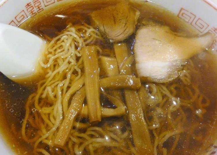 北海道特色拉麵④釧路拉麵:只有在釧路在吃得到的限定口味