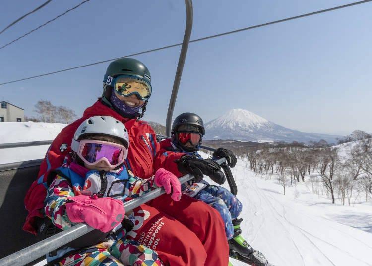 니세코 스키의 베스트 시즌은?