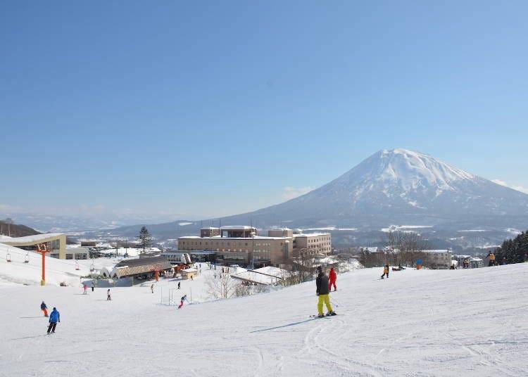 2) '니세코 마운틴 리조트 그랜드 히라후'는 니세코에서 가장 큰 스키장!