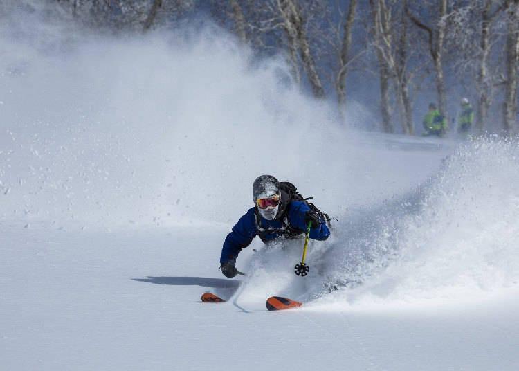 3) '니세코 빌리지 스키 리조트' 는 코스의 수도 겨울 액티비티도 많다!