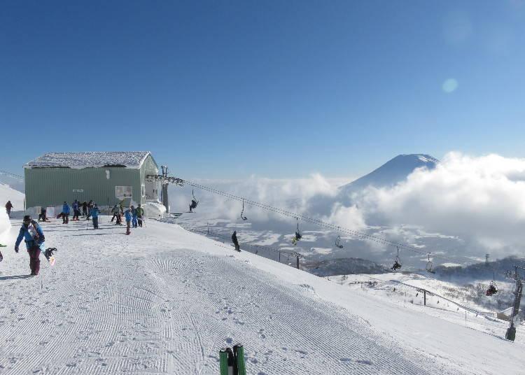 二世谷滑雪场④深受家庭客喜爱的「安努普利国际滑雪场」