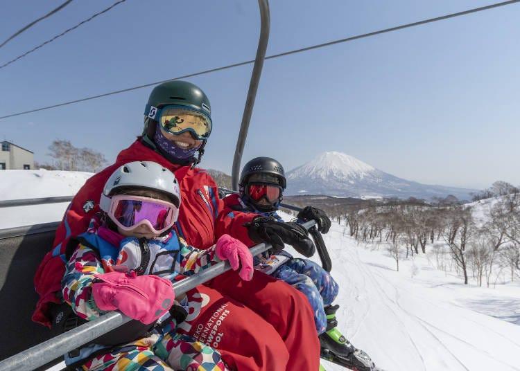 二世古滑雪的最佳時期是?