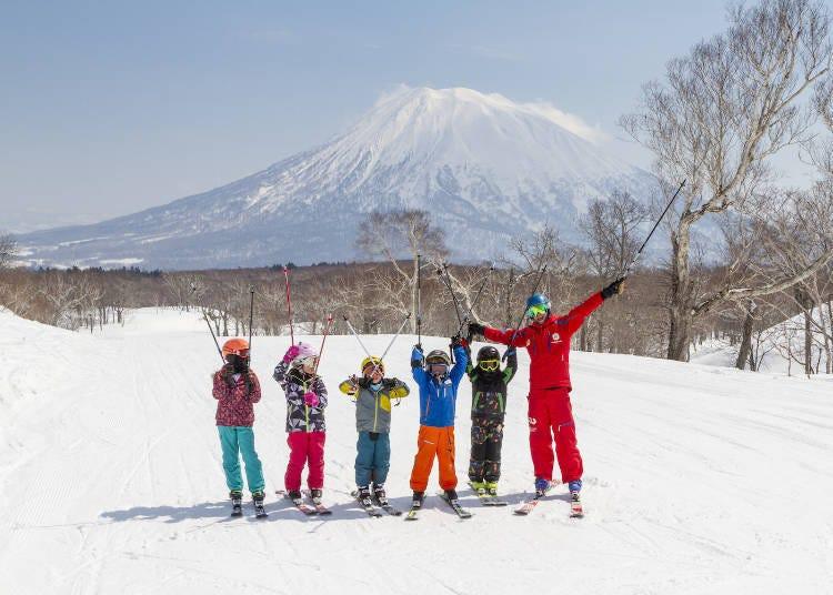 二世古滑雪場①有花式跳台的大賽開賽地「二世古花園(HANAZONO)」