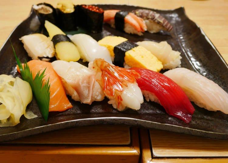2. Local Hokkaido food: Otaru and Shakotan