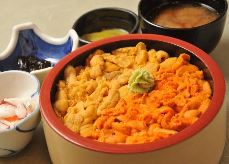 Otaru cuisine No. 3: Shakotan sea urchin