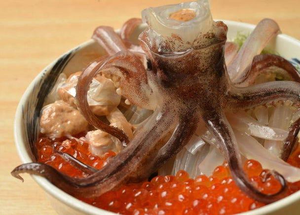 3. Local Hokkaido foods: Hakodate