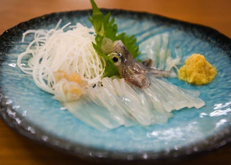 Hakodate cuisine No. 1: Squid