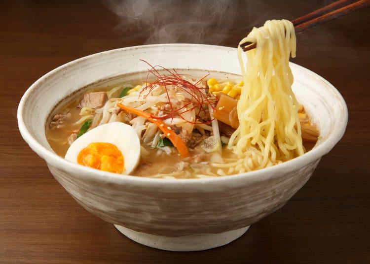1. Local Hokkaido cuisine: Sapporo
