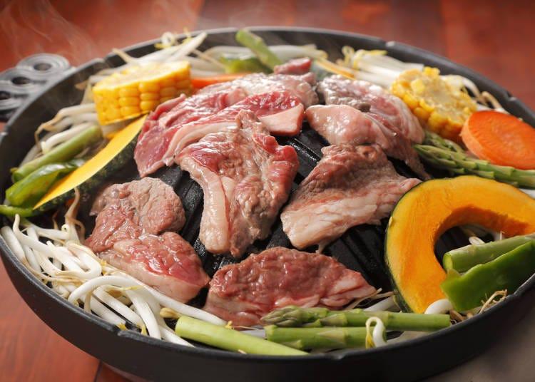 札幌当地美食3 成吉思汗烤羊肉