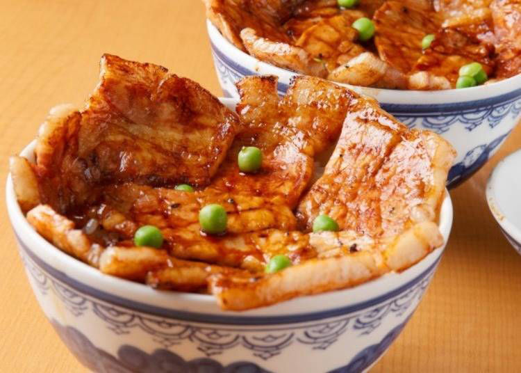 北海道美食⑮讓人一口接一口扒飯的「豬肉蓋飯」