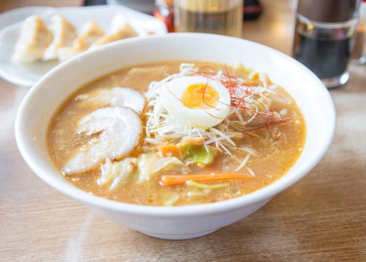 札幌當地美食1 札幌拉麵