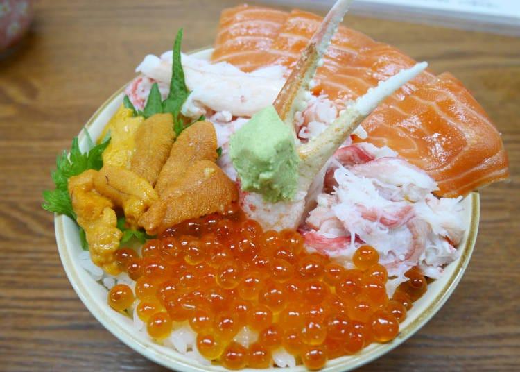 北海道美食⑤因為位處港口所以美味更升級!「壽司、海鮮丼」