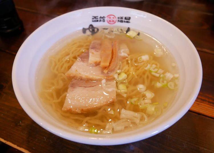 函館當地美食2 鹽味拉麵