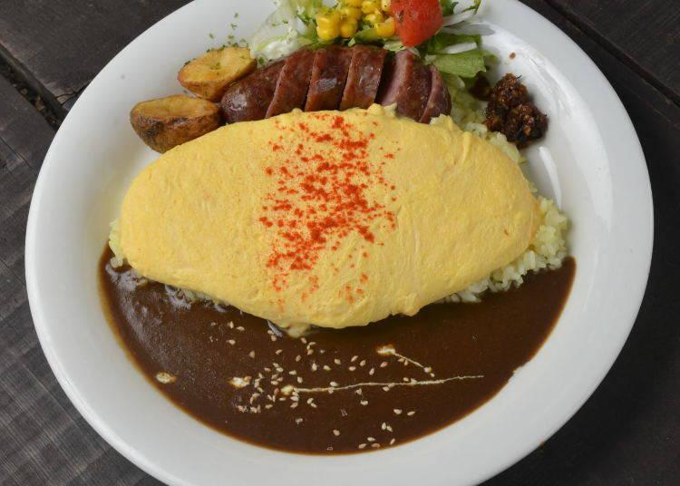 北海道美食⑩「富良野咖哩」&「美瑛咖哩烏龍麵」
