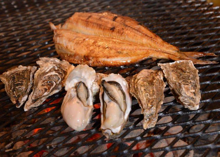 北海道美食⑫炭火燒烤「爐端燒」