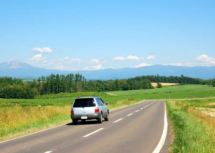Q. 홋카이도에서 자동차를 운전하는 경우의 주의점은?