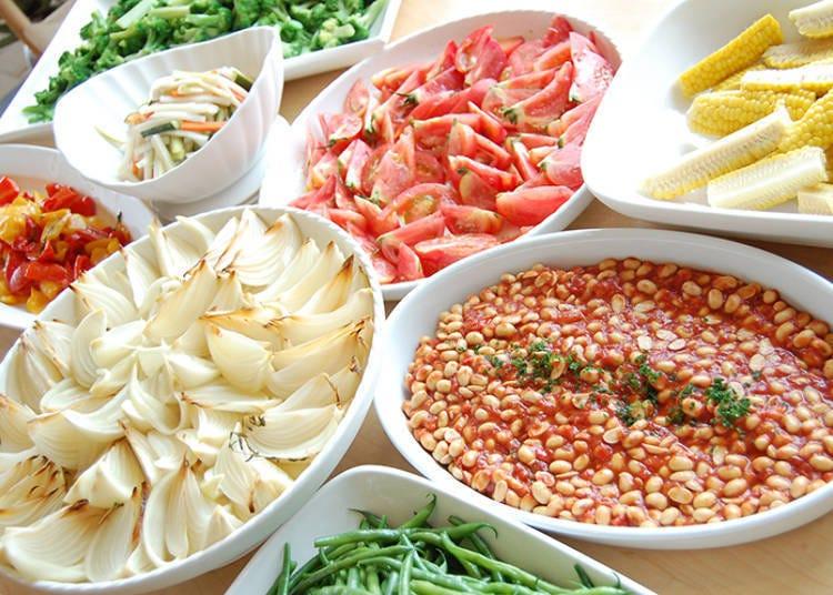 超人气的午餐蔬菜吃到饱餐厅「PRATIVO」