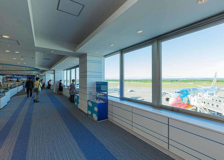 신치토세 공항 터미널에서 꼭 가 봐야하는 시설 3곳.