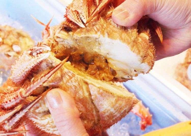 走跳札幌二條市場的10間店!螃蟹、海鮮丼飯、哈蜜瓜等應有盡有!