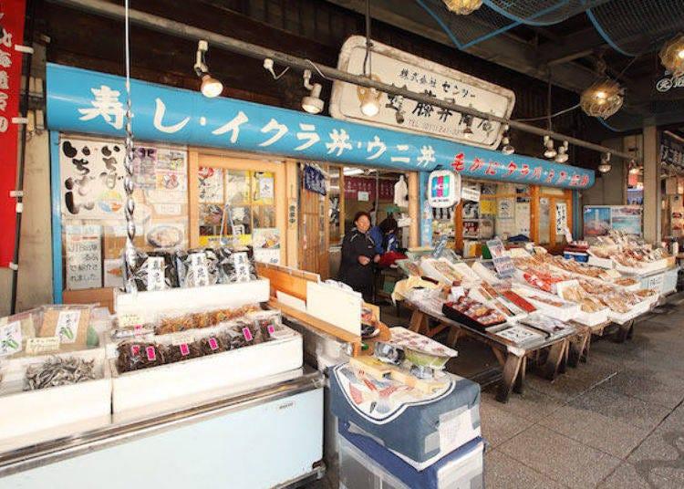 2. 逛二條市場的起點「Zentsu近藤昇商店」