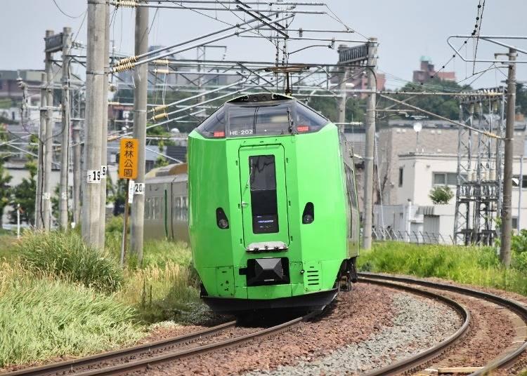 北海道周遊の交通手段
