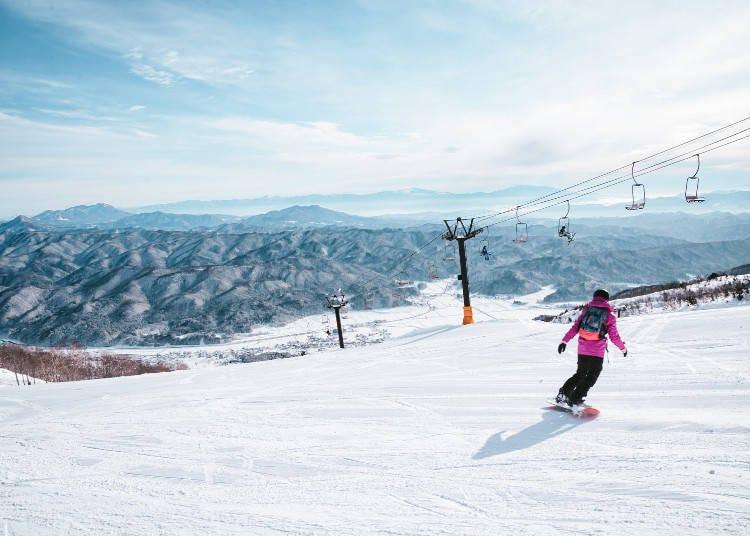 ■北海道でのスキー・スノボ