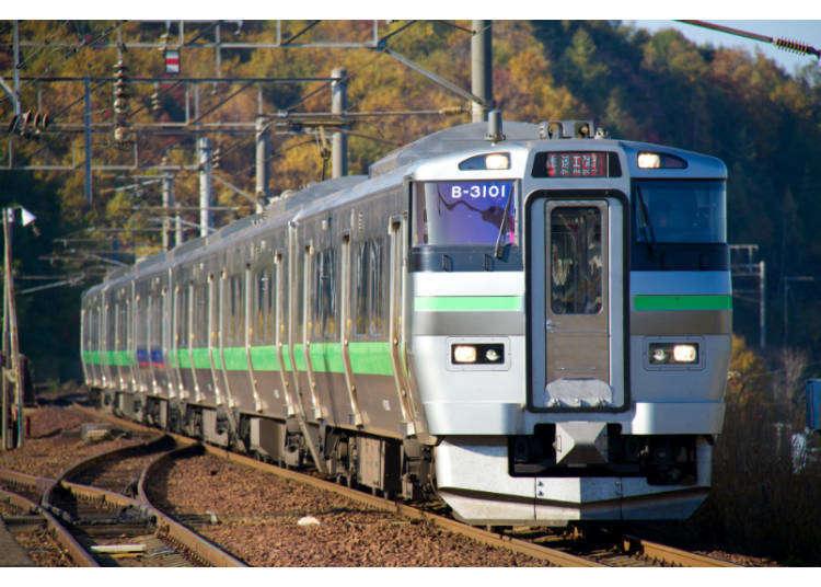 北海道鐵道巡禮②想玩遍北海道就該知道!北海道主要車站之間的移動距離&時間大統整