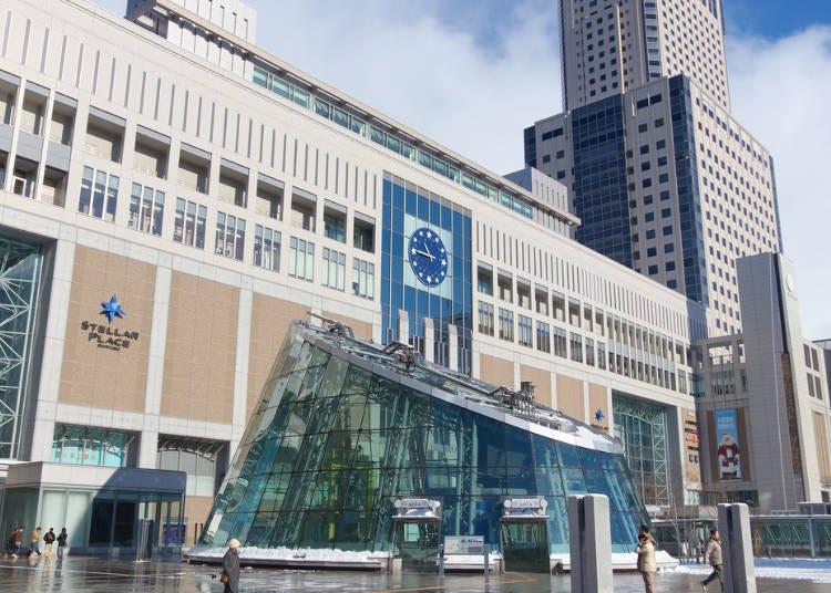 2)以札幌站為出發點遊玩:小樽、登別溫泉、洞爺湖、Tomamu