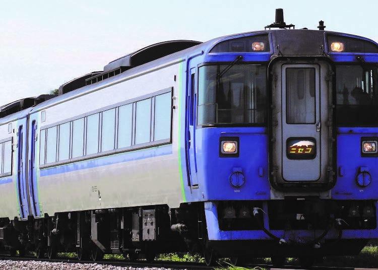 Direct trip between Sapporo and Hakodate via Niseko No. 6. Express Niseko