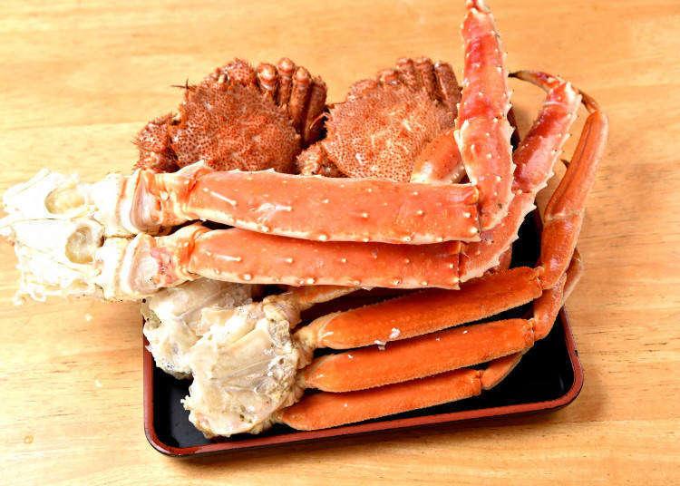 起底札幌能吃到螃蟹的饭店