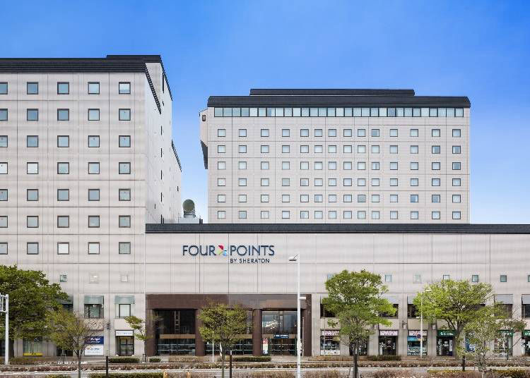 3. Four Points by Sheraton Hakodate: World-Famous Brand Hotel Located in front of Hakodate Station