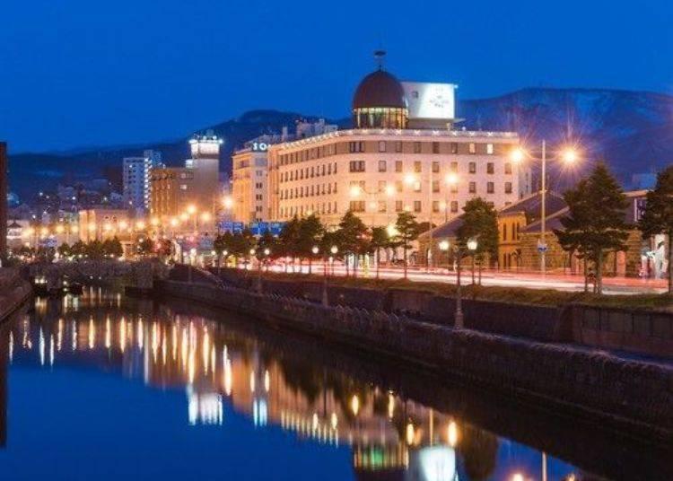 2. Hotel Nord Otaru: An elegant Western-style Otaru hotel with a gorgeous canal view